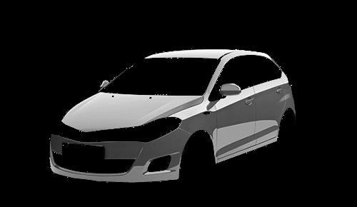 Цвета кузова Forza Hatchback